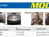 Moog Easy Solution voor spoorstangeind